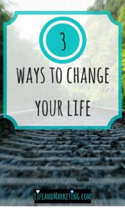 Feel a little stuck? Here are 3 self-improvement ideas/tips that will make your life better.