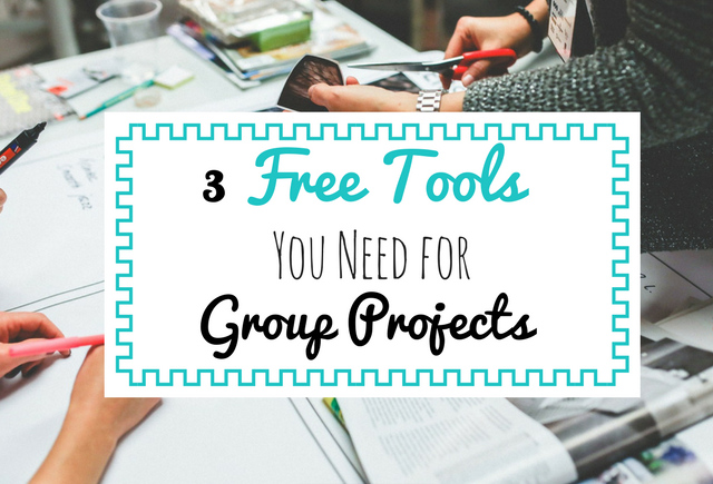 Surviving Group Projects in college | free tools for group projects
