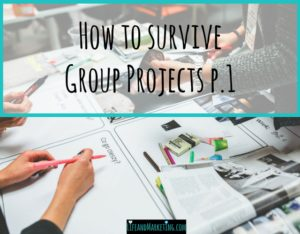 Surviving Group Projects-College