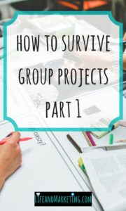 Group projects in college aren't easy, but here are some group project tips that will make you thrive when project time comes!