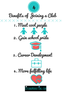 Join a club | College Freshman tips | Make friends in college | College club tips | College clubs