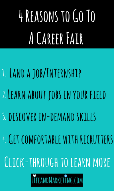 Going to a career fair during college can be intimidating. Even so, there are a ton of great reasons to go to a career fair. These are some of the best reasons to go to a career fair during college.
