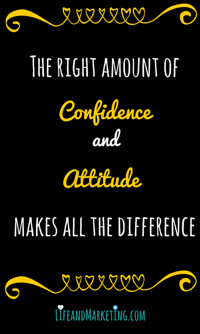 This motivational quote on confidence and attitude will inspire you to work toward your dreams.