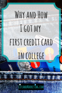 #collegelife | #collegetips | #personalfinance | Credit Card College Student