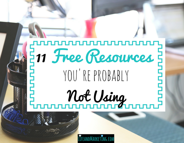 11 Free Resources You're Probably Not Using as a College Student