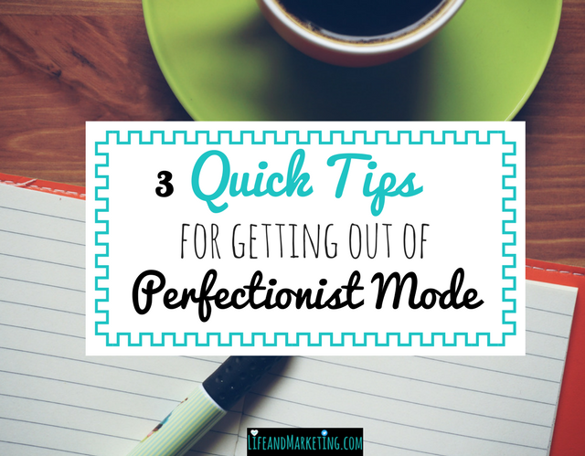 Want to become more productive? Stop being a perfectionist when it comes to your work! One big perfectionist problem is that you spend so much time working on stuff that is good enough. Let's change that with 3 perfectionist tips!