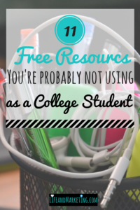 Tips for College Students | College Advice | Resources for College Students | #College