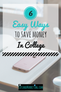 Save money tips in college | College saving tips | Saving money in college | #collegetips | #college
