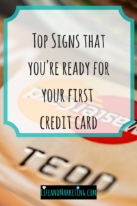 First credit card tips | Credit Card tips for college students | Personal finance tips for college students | #collegetips