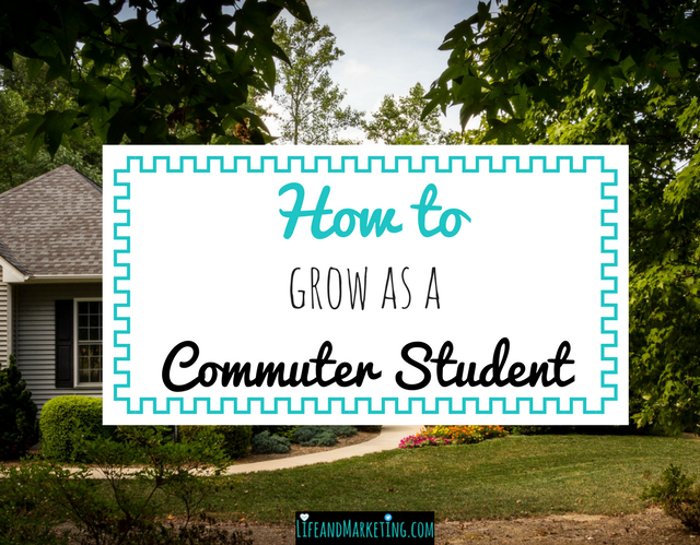 How to grow as a commuter student