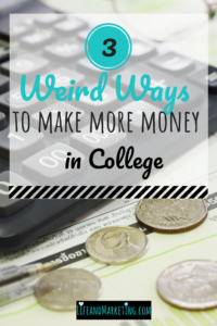 #collegetips | making money in college | earning money in college | college personal finance