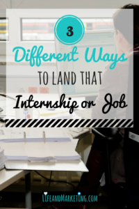 #collegetips, #CareerTips, Getting an internship in college, landing an internship, how to get a job