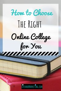 How to Choose the Right Online College